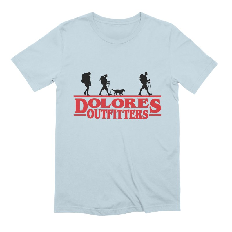 Strange Hike Men's Extra Soft T-Shirt by dolores outfitters's Artist Shop