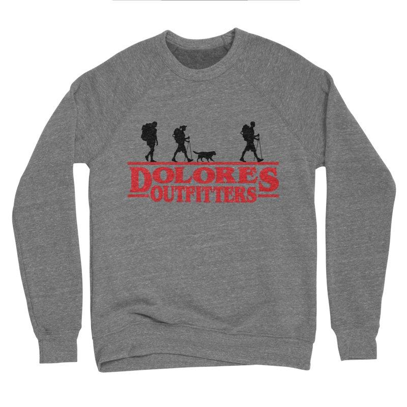 Strange Hike Men's Sponge Fleece Sweatshirt by dolores outfitters's Artist Shop