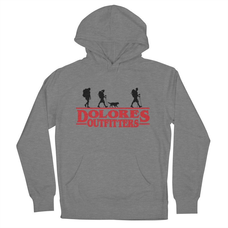 Strange Hike Men's French Terry Pullover Hoody by dolores outfitters's Artist Shop