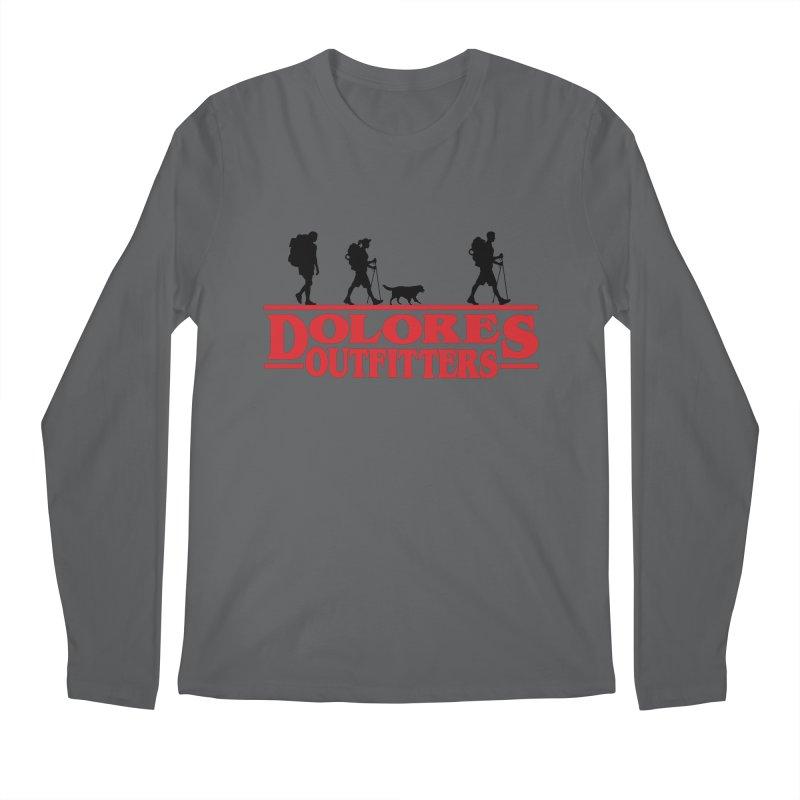 Strange Hike Men's Regular Longsleeve T-Shirt by dolores outfitters's Artist Shop