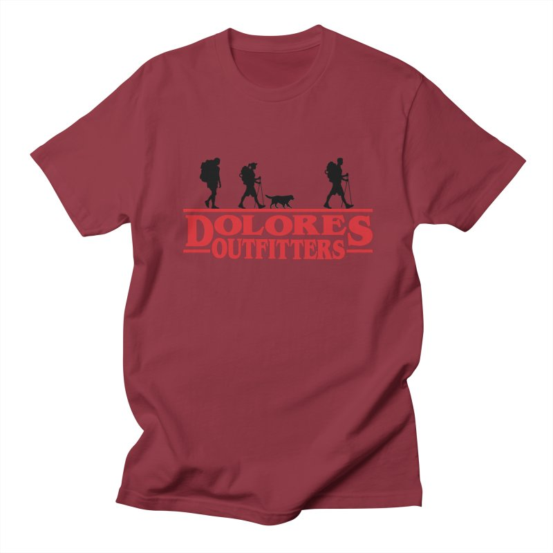 Strange Hike Women's Regular Unisex T-Shirt by dolores outfitters's Artist Shop