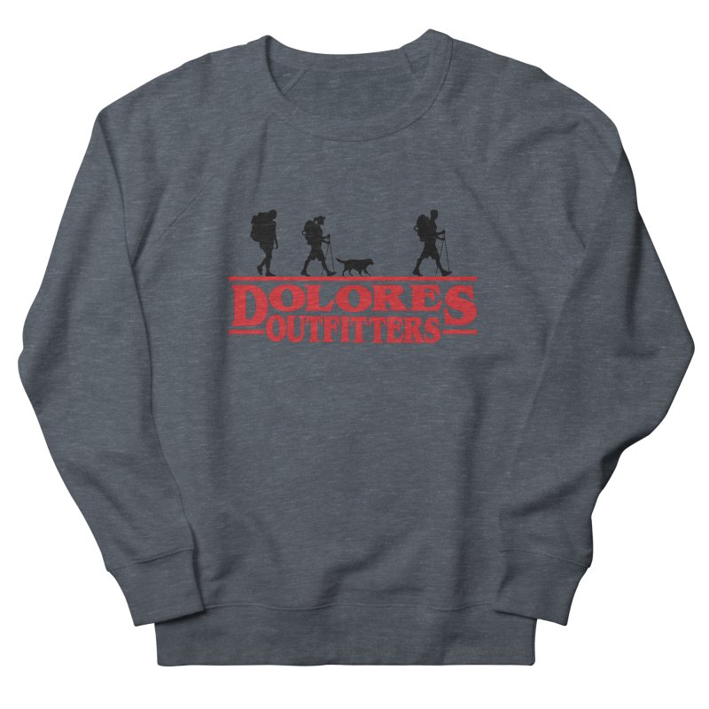 Strange Hike Women's French Terry Sweatshirt by dolores outfitters's Artist Shop