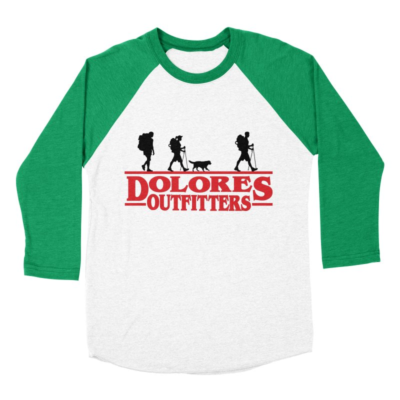 Strange Hike Men's Baseball Triblend Longsleeve T-Shirt by dolores outfitters's Artist Shop