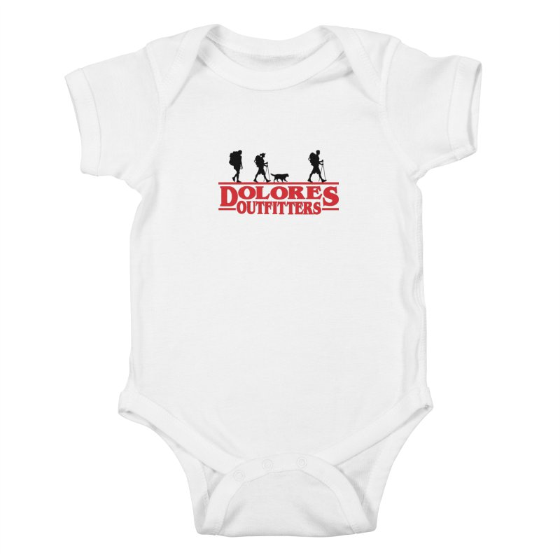 Strange Hike Kids Baby Bodysuit by dolores outfitters's Artist Shop