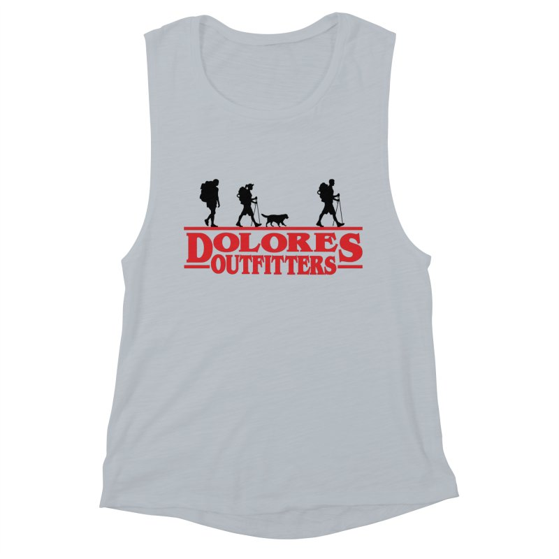 Strange Hike Women's Muscle Tank by dolores outfitters's Artist Shop