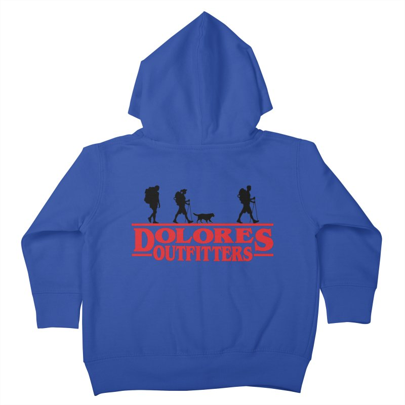 Strange Hike Kids Toddler Zip-Up Hoody by dolores outfitters's Artist Shop