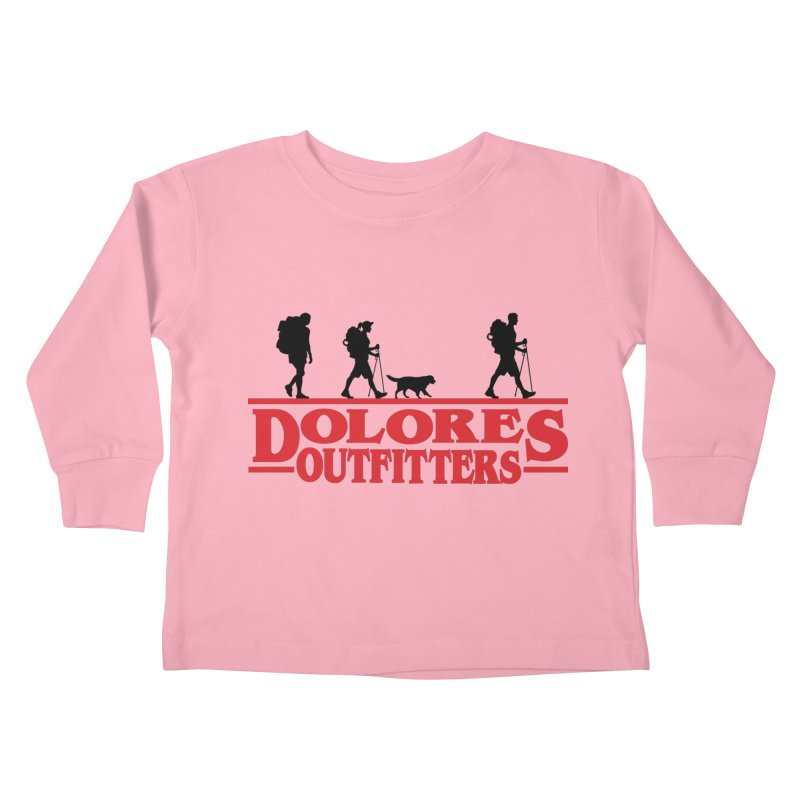 Strange Hike Kids Toddler Longsleeve T-Shirt by dolores outfitters's Artist Shop