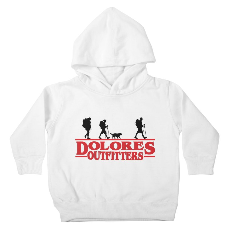 Strange Hike Kids Toddler Pullover Hoody by dolores outfitters's Artist Shop