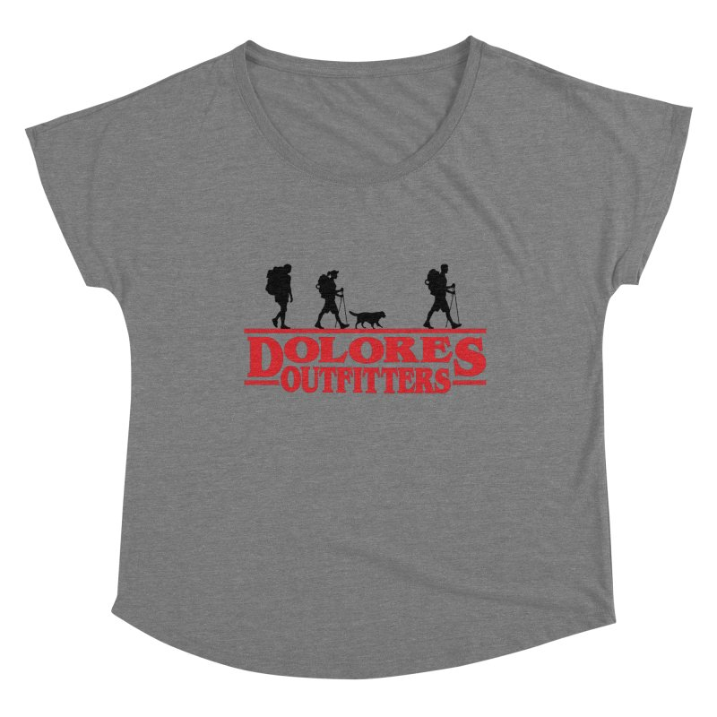 Strange Hike Women's Dolman Scoop Neck by dolores outfitters's Artist Shop