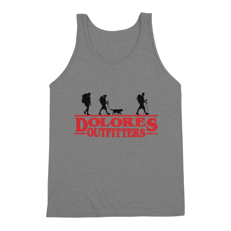 Strange Hike Men's Triblend Tank by dolores outfitters's Artist Shop