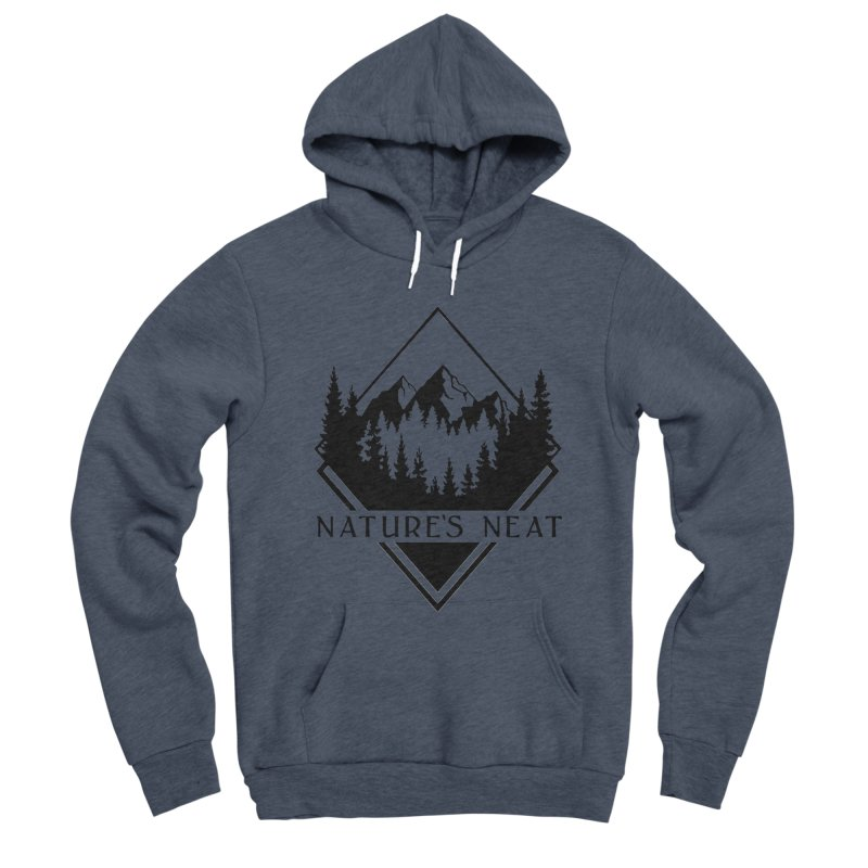 Nature's Neat Men's Sponge Fleece Pullover Hoody by dolores outfitters's Artist Shop