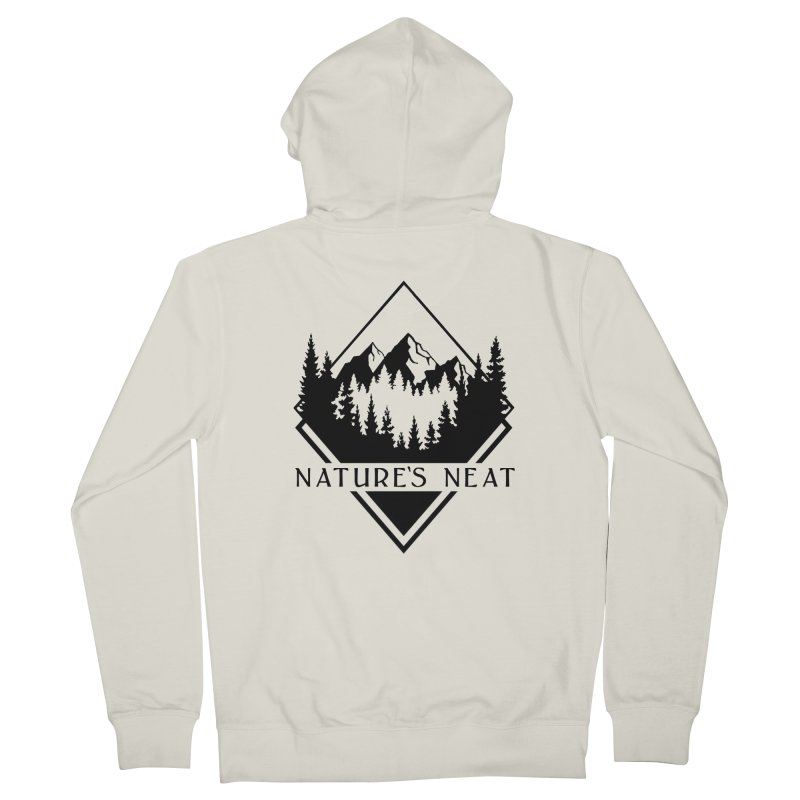 Nature's Neat Men's French Terry Zip-Up Hoody by dolores outfitters's Artist Shop