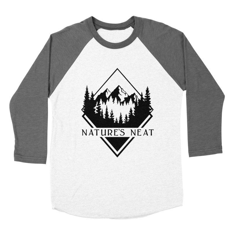 Nature's Neat in Men's Baseball Triblend Longsleeve T-Shirt Tri-Grey Sleeves by dolores outfitters's Artist Shop