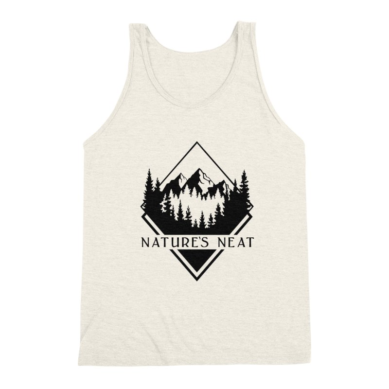 Nature's Neat Men's Triblend Tank by dolores outfitters's Artist Shop