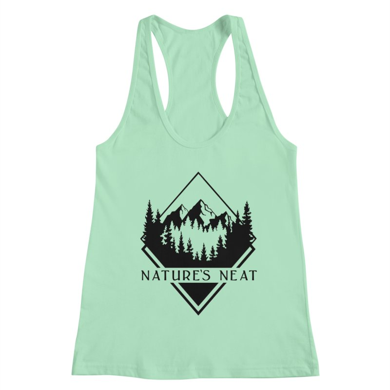 Nature's Neat Women's Racerback Tank by dolores outfitters's Artist Shop