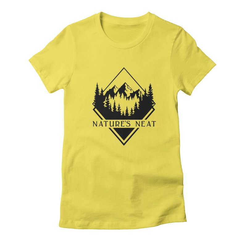 Nature's Neat Women's Fitted T-Shirt by dolores outfitters's Artist Shop