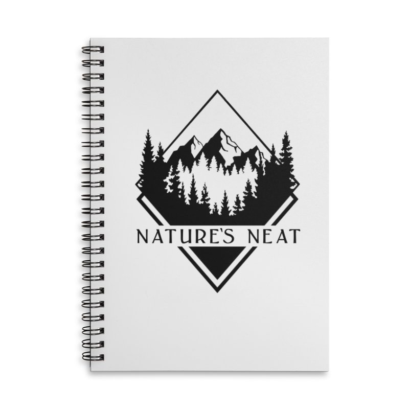 Nature's Neat Accessories Lined Spiral Notebook by dolores outfitters's Artist Shop