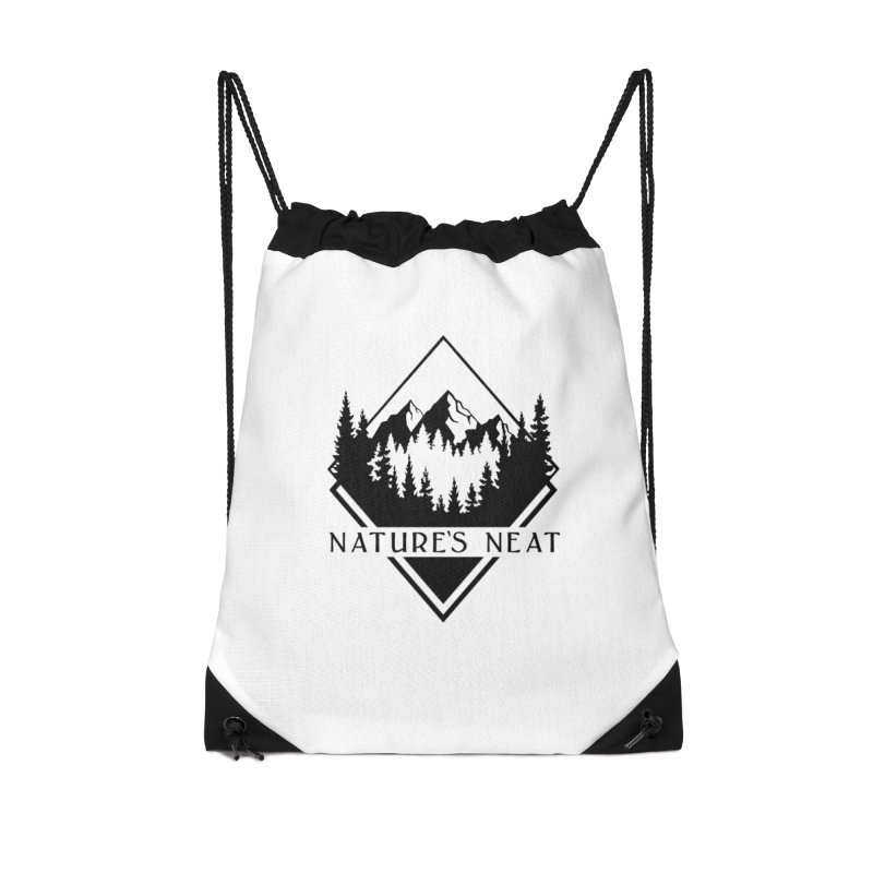Nature's Neat Accessories Drawstring Bag Bag by dolores outfitters's Artist Shop