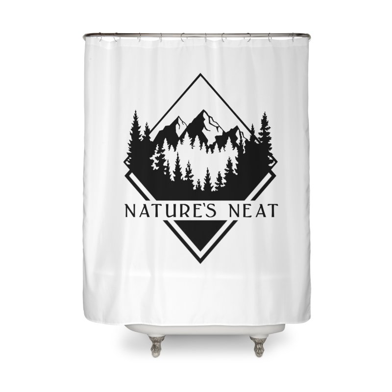 Nature's Neat Home Shower Curtain by dolores outfitters's Artist Shop