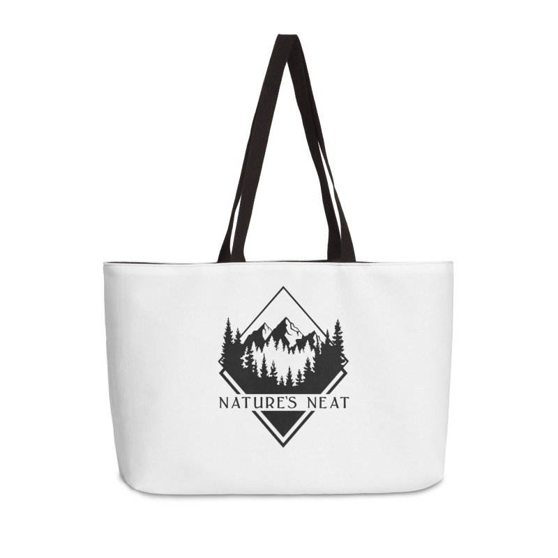 Nature's Neat Accessories Weekender Bag Bag by dolores outfitters's Artist Shop