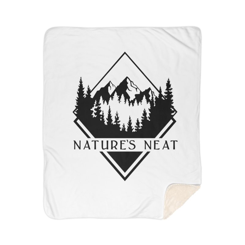 Nature's Neat Home Sherpa Blanket Blanket by dolores outfitters's Artist Shop