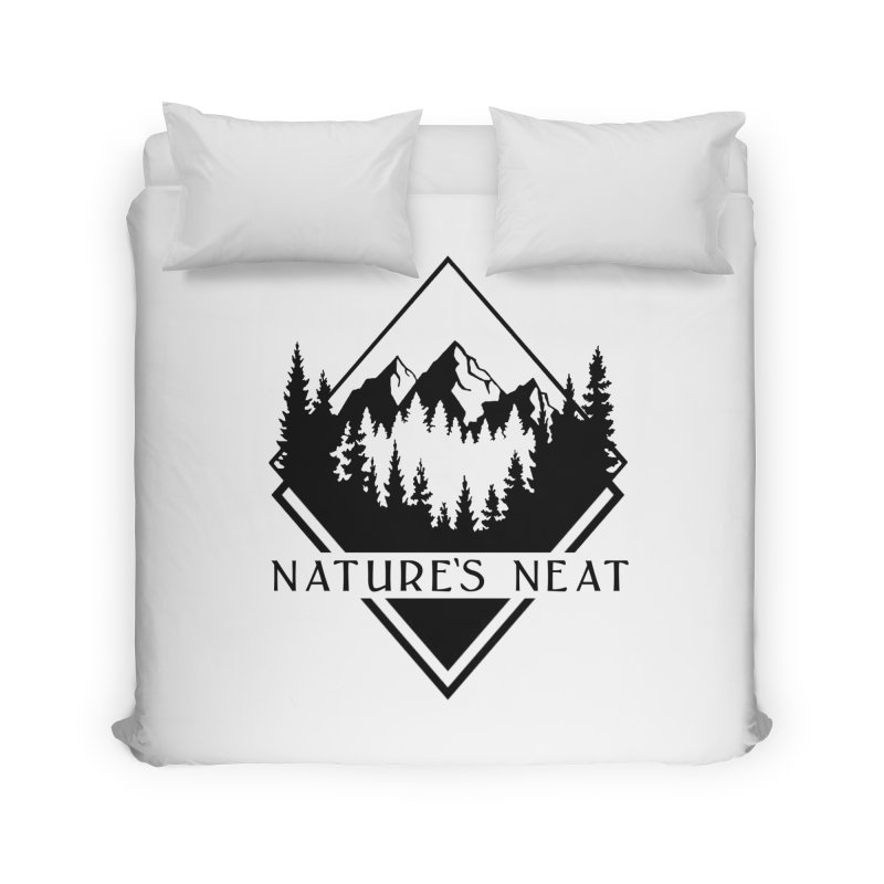 Nature's Neat Home Duvet by dolores outfitters's Artist Shop