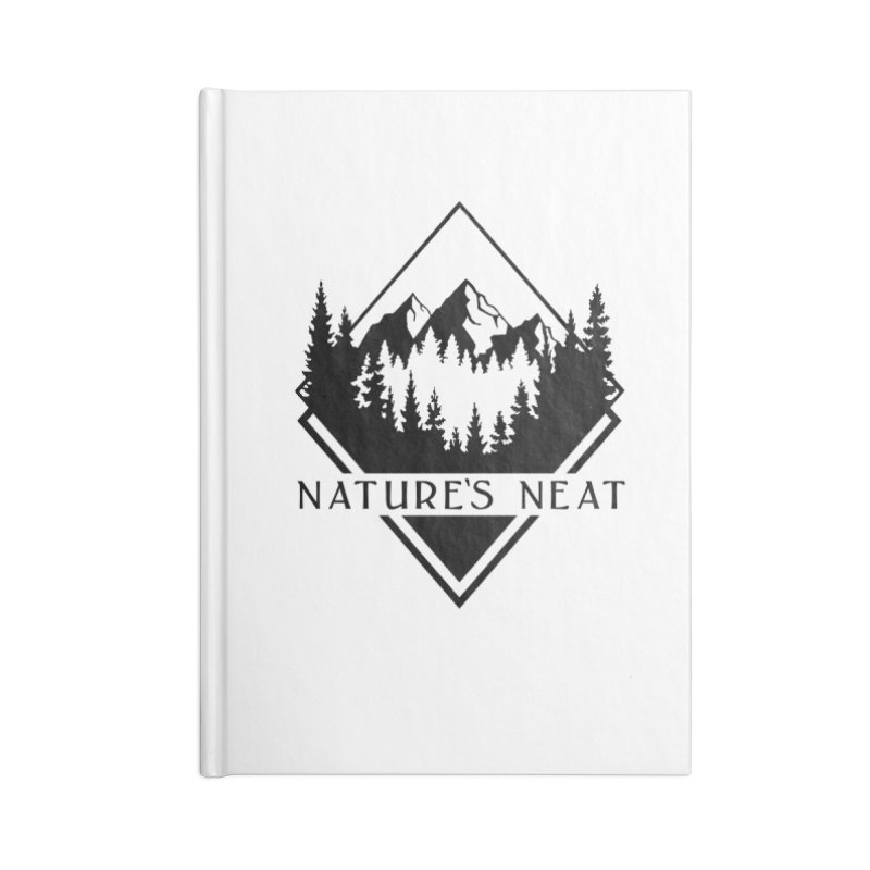 Nature's Neat Accessories Blank Journal Notebook by dolores outfitters's Artist Shop