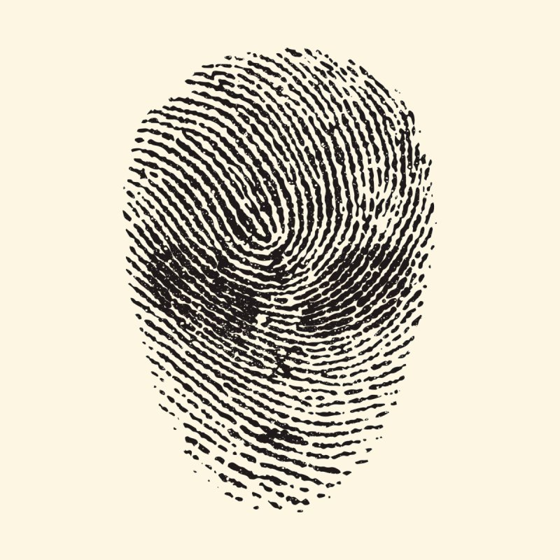 Fingerprint None  by DOMINATE'S Artist Shop