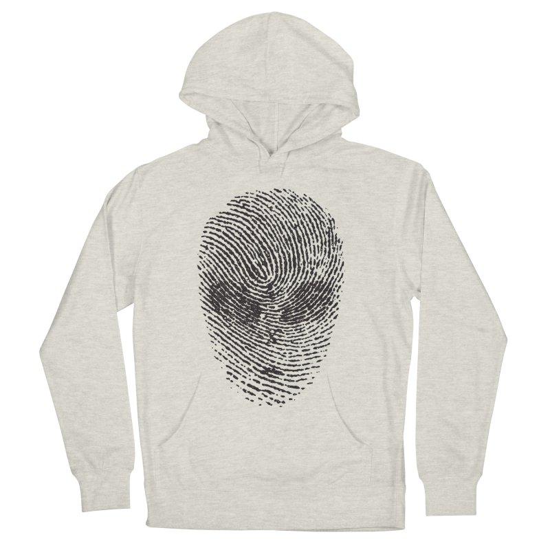 Fingerprint Women's Pullover Hoody by DOMINATE'S Artist Shop