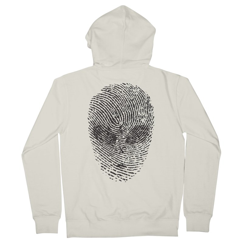 Fingerprint Women's Zip-Up Hoody by DOMINATE'S Artist Shop
