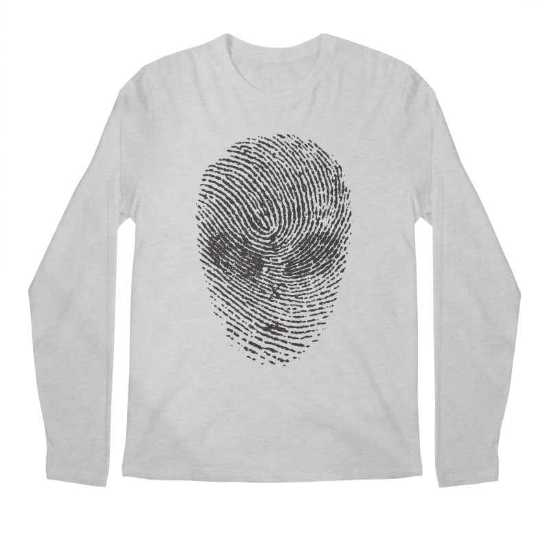 Fingerprint Men's Longsleeve T-Shirt by DOMINATE'S Artist Shop