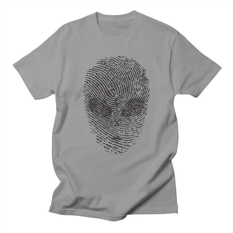 Fingerprint Men's T-shirt by DOMINATE'S Artist Shop