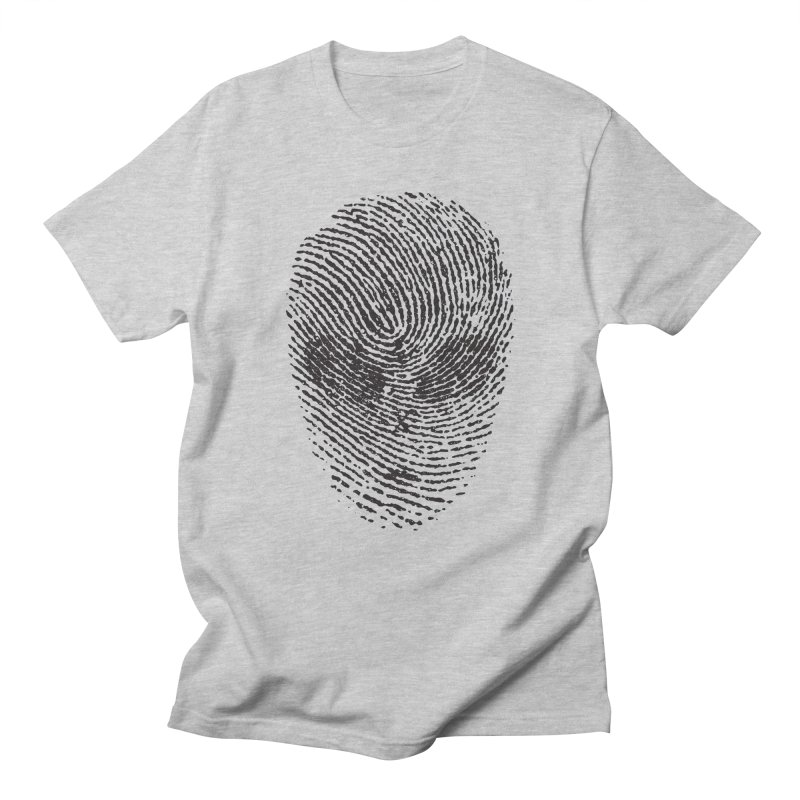 Fingerprint Men's T-shirt by DOMINATE'S Artist Shop