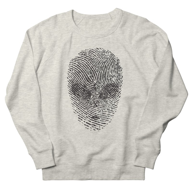 Fingerprint Men's Sweatshirt by DOMINATE'S Artist Shop