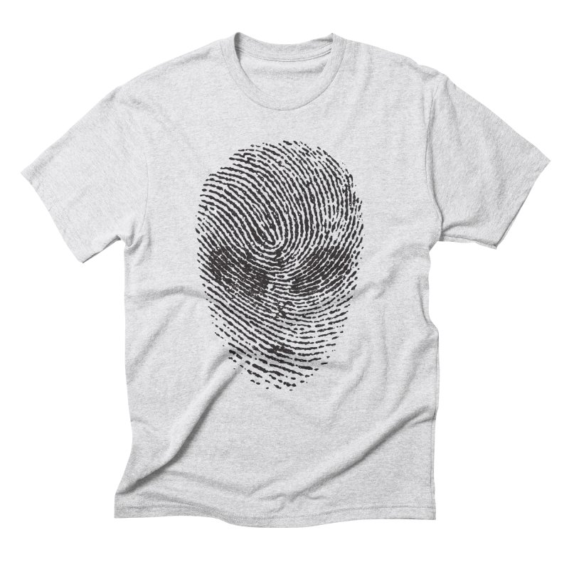 Fingerprint Men's Triblend T-Shirt by DOMINATE'S Artist Shop