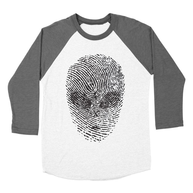 Fingerprint Women's Baseball Triblend T-Shirt by DOMINATE'S Artist Shop