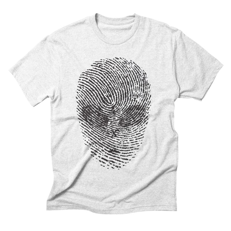 Fingerprint Men's Triblend T-shirt by DOMINATE'S Artist Shop