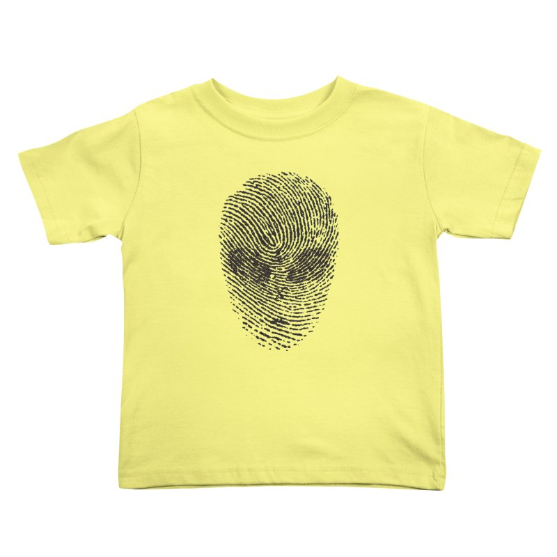 Fingerprint Kids Toddler T-Shirt by DOMINATE'S Artist Shop