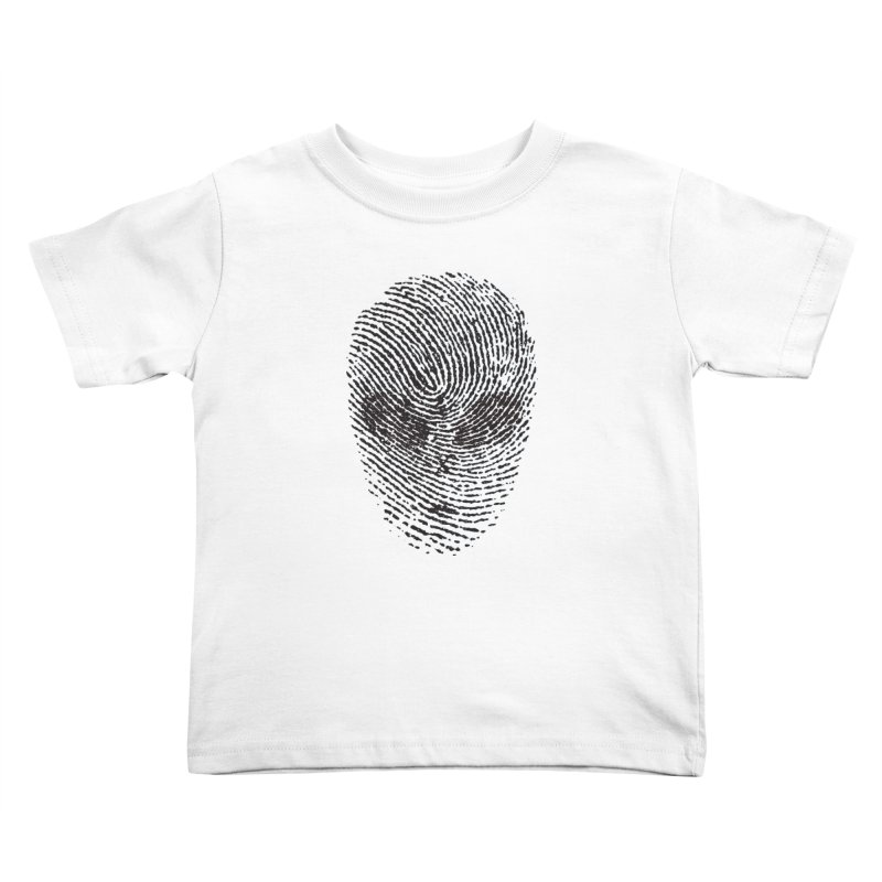 Fingerprint Kids Toddler T-Shirt by DOMINATE'S Artist Shop