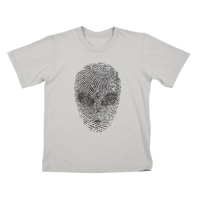 Fingerprint Kids T-shirt by DOMINATE'S Artist Shop
