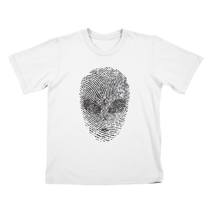 Fingerprint Kids T-Shirt by DOMINATE'S Artist Shop