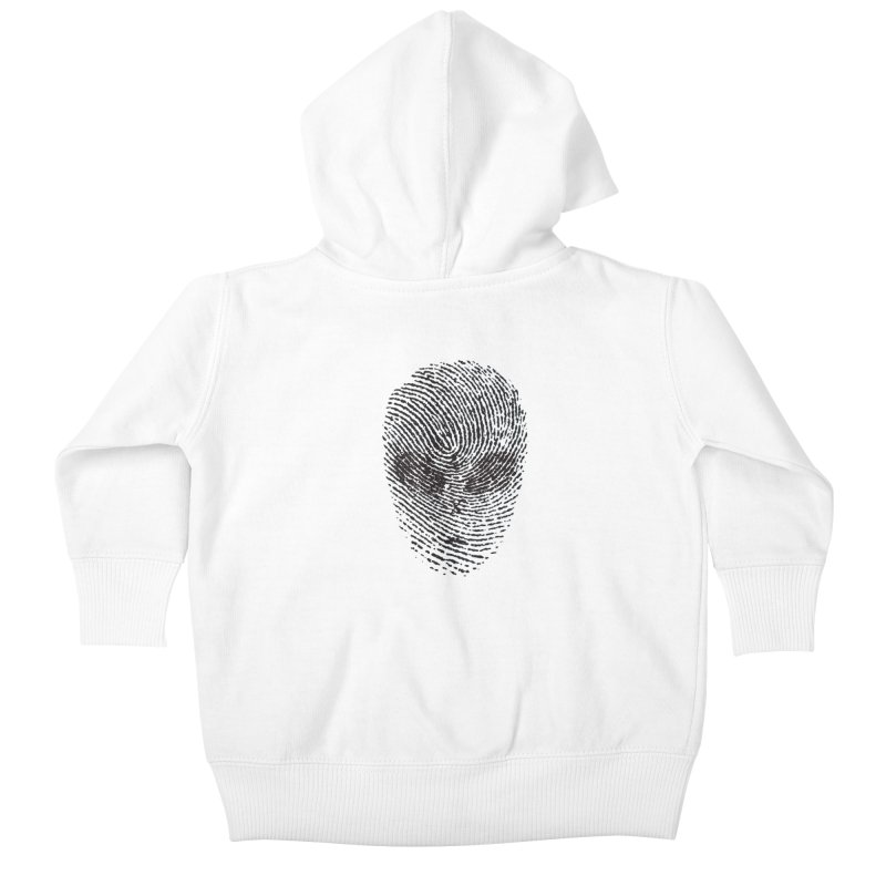 Fingerprint Kids Baby Zip-Up Hoody by DOMINATE'S Artist Shop