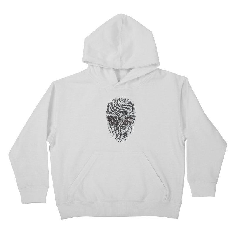 Fingerprint Kids Pullover Hoody by DOMINATE'S Artist Shop