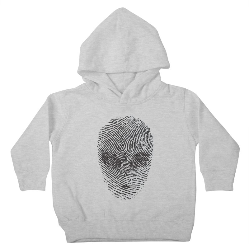 Fingerprint Kids Toddler Pullover Hoody by DOMINATE'S Artist Shop