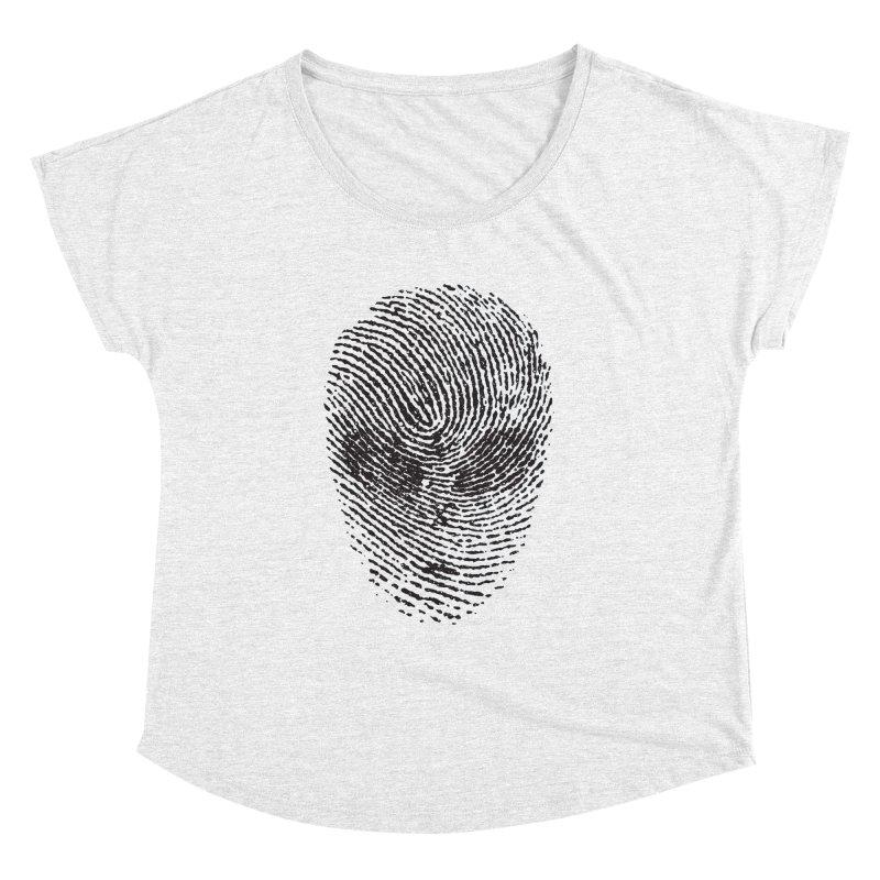 Fingerprint Women's Dolman by DOMINATE'S Artist Shop