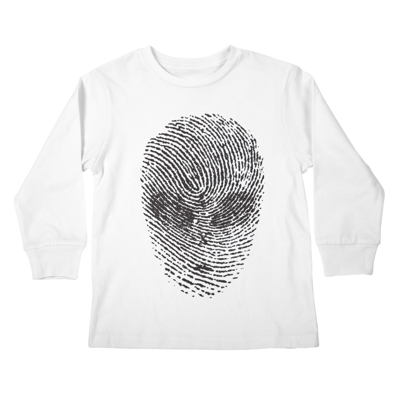 Fingerprint Kids Longsleeve T-Shirt by DOMINATE'S Artist Shop