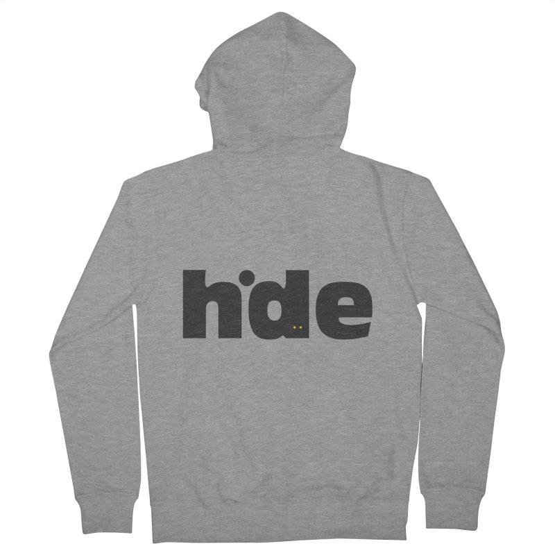 Hide Men's Zip-Up Hoody by DOMINATE'S Artist Shop
