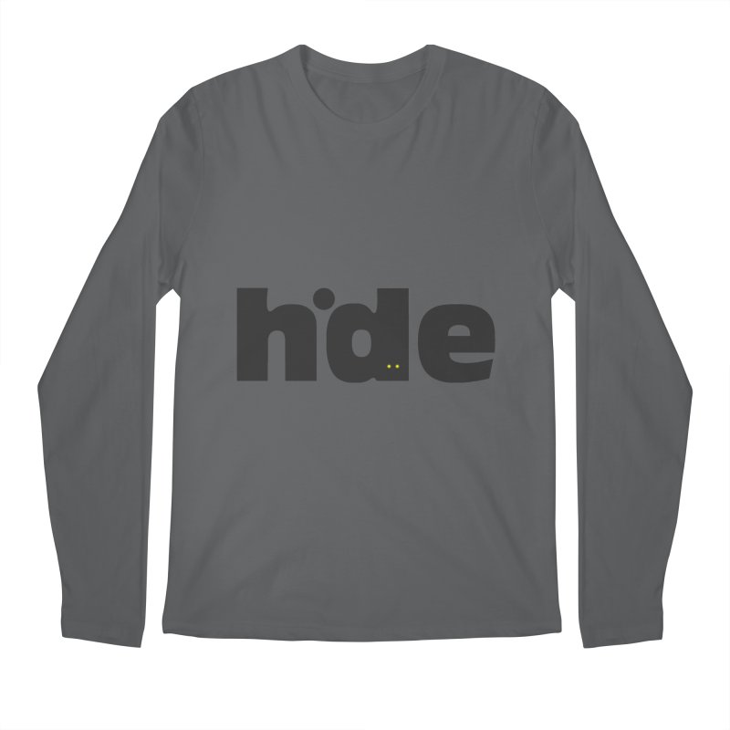 Hide Men's Longsleeve T-Shirt by DOMINATE'S Artist Shop