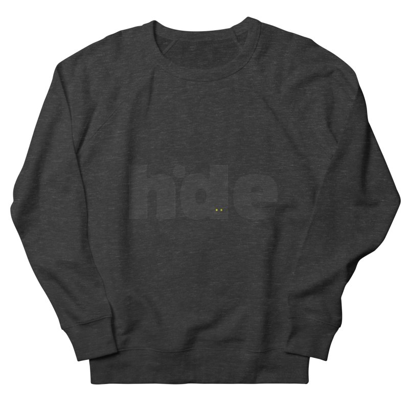 Hide Men's Sweatshirt by DOMINATE'S Artist Shop
