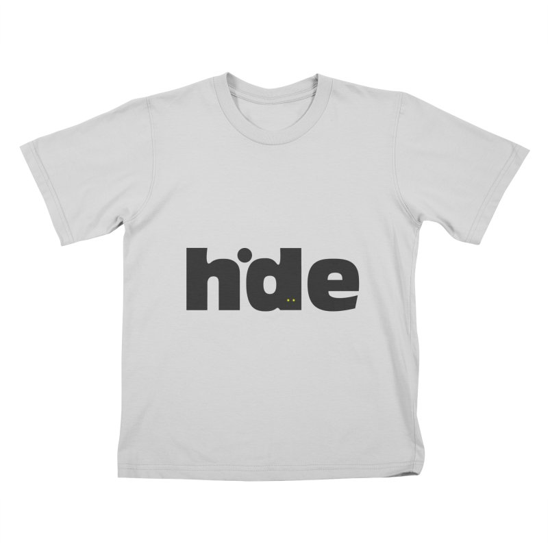 Hide Kids T-Shirt by DOMINATE'S Artist Shop